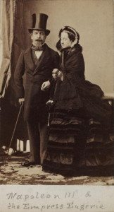 Napoleon III and the Empress Eugenie of France, c 1865.