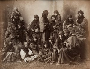 Felix Bonfils - Bedouin Women, Jerusalem, ca 1880