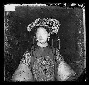 A Manchu bride, Beijing 1871-2