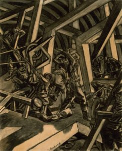 Bomberg,_David_-_Sappers_at_Work_-_Canadian_Tunnelling_Company,_R14,_St_Eloi_-_Google_Art_Project