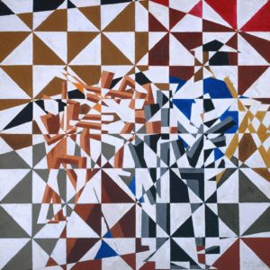 Ju-Jitsu c.1913 David Bomberg 1890-1957 Presented by the Trustees of the Chantrey Bequest 1963 http://www.tate.org.uk/art/work/T00585