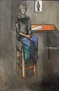 Matisse_Woman_on_a_high_stool
