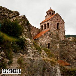 the amazing mzovreti monastery