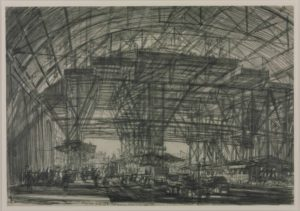 Study for 'The Great Gantry, Charing Cross Station' 1906 Sir Muirhead Bone 1876-1953 Presented by Miss Evelyn de Ponsonby McGhee 1908 http://www.tate.org.uk/art/work/N02300
