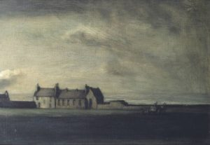 Ballantrae School House circa 1905-7 Sir Muirhead Bone 1876-1953 Bequeathed by Hans Velten 1931 http://www.tate.org.uk/art/work/N04577