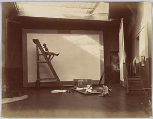 Edmond Bénard (French, 1838–1907) François Flameng, 1880s–90s Albumen silver print from glass negative; Image: 20.1 × 26 cm (7 15/16 × 10 1/4 in.) The Metropolitan Museum of Art, New York, Gilman Collection, Museum Purchase, 2005 (2005.100.1249) http://www.metmuseum.org/Collections/search-the-collections/286265