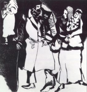 Marc-Chagall-A-Group-of-People